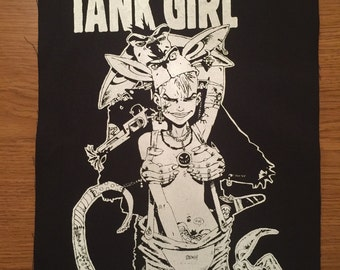 Tank Girl Cloth Back Patch