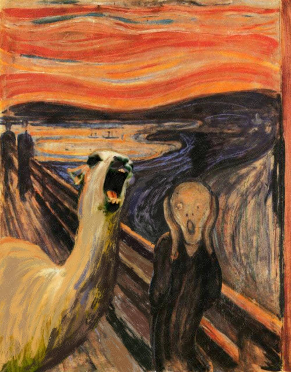 the scream artwork Simon kregar artwork the scream for sale and offering more original artworks in  painting acrylic medium and world conflict theme contemporary artist website.