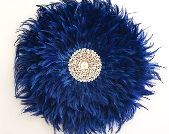 Juju blue feather