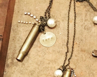 Custom Bullet Necklace, customized bullets, country girl, custom bullet jewelry, personalized bullets, initial bullets, bullet necklace