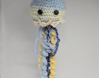 Handmade Crochet Jellyfish - perfect for newborns