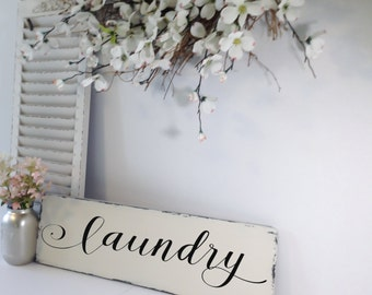 Laundry Room Decor, Laundry Room Sign, Rustic Wall Decor, Country Home Decor, Farmhouse Decor, Housewarming Gift, House Warming Gift, Wooden