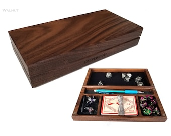 Delver's kit - dice box, miniature box, dice tray - dnd, rpg