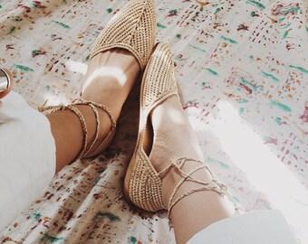 PRE ORDER Moroccan  nude sandals bohemian,raffia shoes,raffia crafts,woven shoes