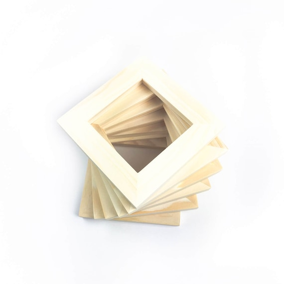 4x4 Bulk Unfinished Wood Frames Wholesale 4x4 Picture