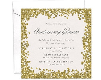 Trophy cup sports championship party invitation gold trophy anniversary dinner anniversary party work anniversary wedding anniversary invite gold invitation stopboris Image collections