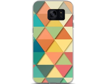 Case for Samsung Galaxy , Cover for S7, Case, Geometric phone case, S6 Samsung Case, Samsung Case, Case for Galaxy S8