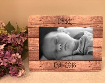 ON SALE Father's Day Personalized Frame