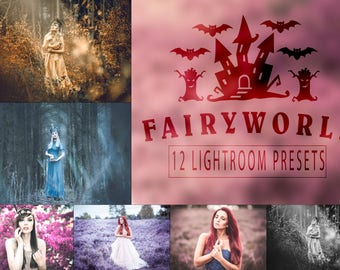 FairyWorld - 12 Lightroom Presets