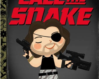 Call Me Snake - 8x10 PRINT