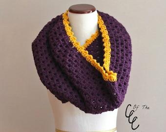 Granny Stitch Cowl | Crochet Pattern | Granny Stitch Cowl Crochet Pattern | Crochet Granny Cowl Pattern | Granny Cowl Pattern | PDF Pattern