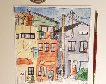 street view~print
