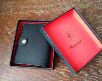 Leather wallet, mens wallet, black, leather, mens leather wallet, genuine leather