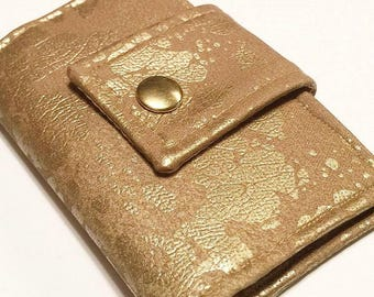 Speckled Metallic Business/Loyalty Card Holder