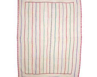VINTAGE TEXTILE - Vintage Kantha Quilt. c1950 Bengal
