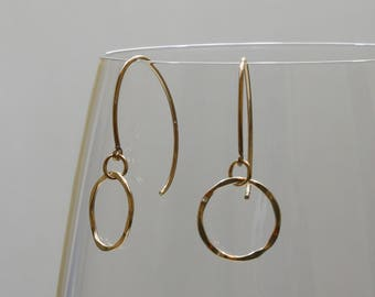 14k gold fill earrings FREE SHIPPING