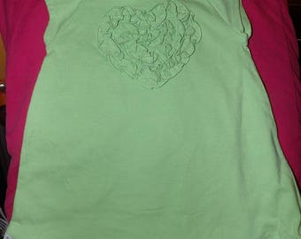 Pretty green dress & matching panty set for size 6 to 9 months - ko5b2