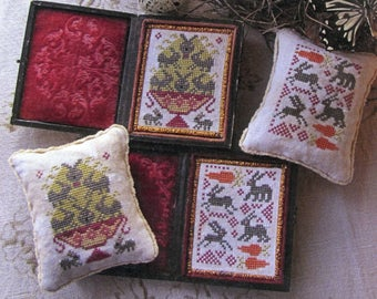 Bowlful of Bunnies by Carriage House Samplings Counted Cross Stitch Pattern/Chart