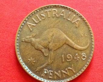 1 Australian penny 1948