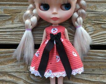 Vintage Cherry Blythe Dress