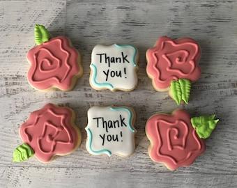 Thank You Mini Sugar Cookies