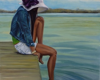 Day Dreaming Oil Painting