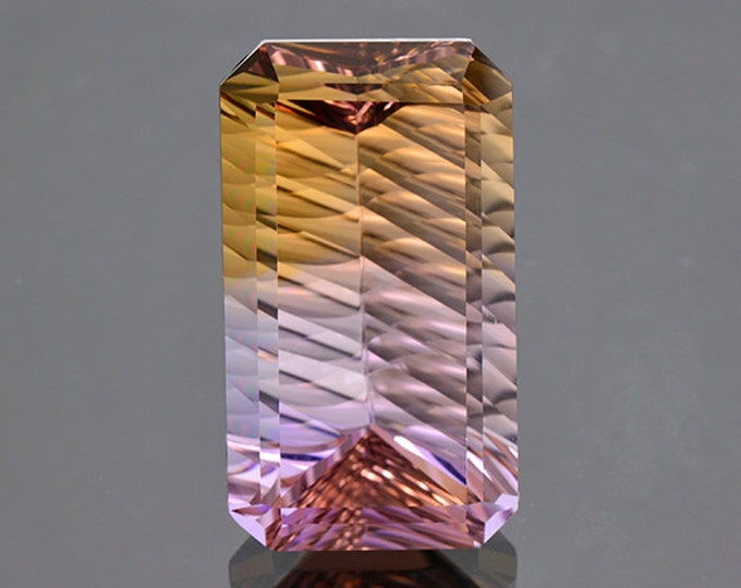 Large Concave Ametrine Gemstone from Bolivia 39.50 cts.