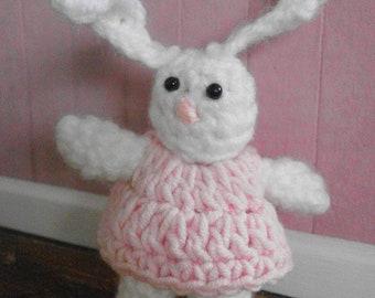 Mini toys for dolls, little bunny ............