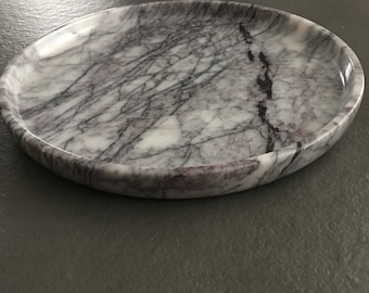 Liliac marble plate