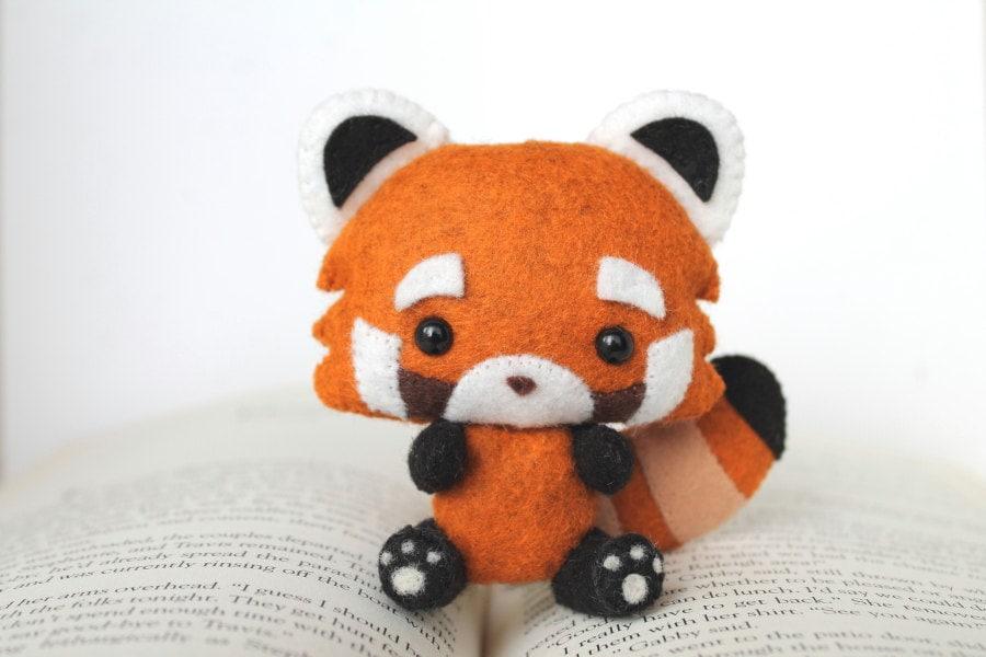 Pdf Pattern Felt Red Panda Nogget Plush