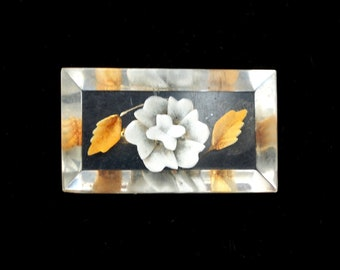Vintage Lucite Brooch Late 1940s