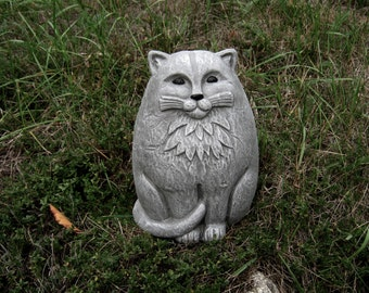 Marvelous Cat Statue, Large Concrete Garden ...