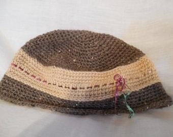 Knit Women's Hat  Handmade  New