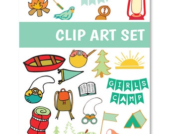 LDS Girls Camp Digital Clip Art - Peace in Christ - Instant Download Paper Scrapbooking Camping Young Women Learn of Me DIY Design