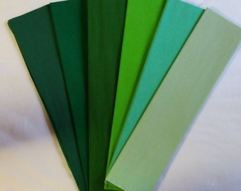Green crepe paper etsy christmas green crepe paper dennison crepe paper crepe paper paper flowers flower making paper mexican paper flowers paper decorations mightylinksfo