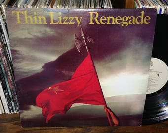 Thin Lizzy Black Rose Album Cover Original Artwork 1976