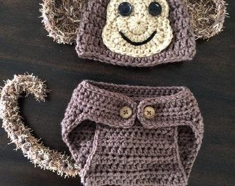 Baby Photo Prop - Little Monkey