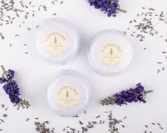 Lavender Shower Steamer Set -  Gift Set of 3 Lavender Essential Oil Shower Bombs - Aromatherapy Shower - Essential Oil - Stocking Stuffer