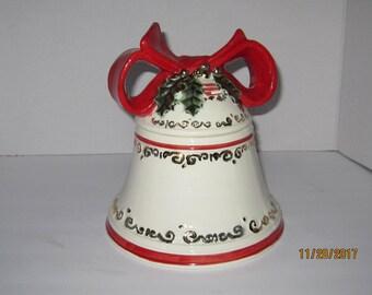 Christmas Bell Cookie/Treat Jar