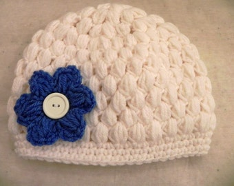 Puff Stitch Boutique Hat Newborn to 12 months