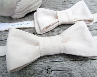 Blush Pink Bow Tie - Baby Bow Tie - Blush Pink Wedding - Grooms Bow Tie - Pale Pink Bow Tie - Mens Bow Tie - Boys Bow Tie - Childs Bow Tie