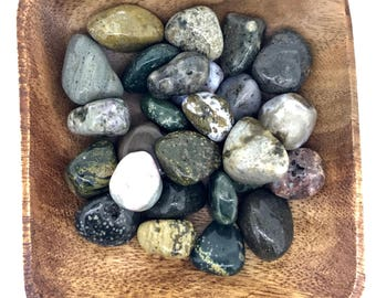 Ocean Jasper Tumbled - Heart Chakra - Root Chakra - Throat Chakra - Reiki - Energy Healing