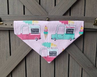 Ice Cream Truck Pet Bandana
