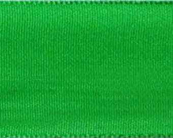 CLEARANCE - Morex Lyon Taffeta Green Ribbon - WE - 27 Yard Rolls - Only 2 Rolls Left