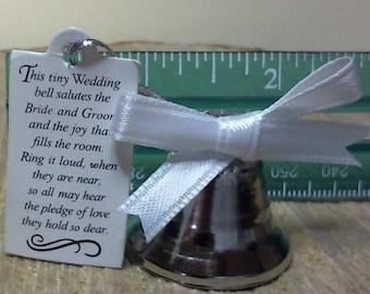 Single Bell - Wedding Bells, Kissing Bells, Wedding Favor, Single Bell