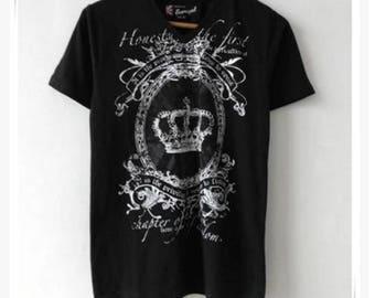 Men's Loose Short Sleeved T-shirt