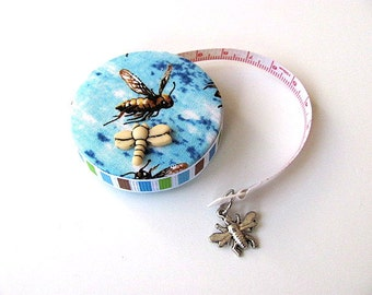 Tape Measure with Bees Retractable Measuring Tape
