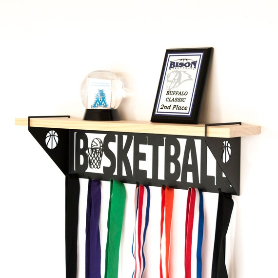 Basketball Trophy Shelf