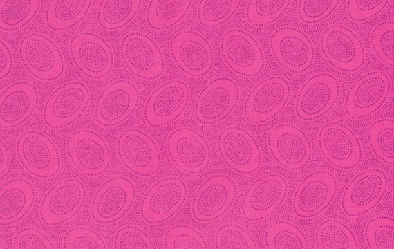 ABORIGINAL DOT SHOCK Pink  gp071 Kaffe Fassett Sold in 1/2 yd increments