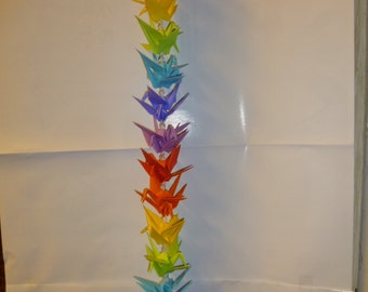 Rainbow crane strand